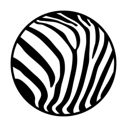 Apollo Metal Gobo 2257 Zebra