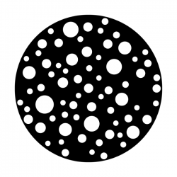 Apollo Metal Gobo 2260 Dots Medium
