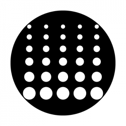 Apollo Metal Gobo 2269 Geometric Dots 2
