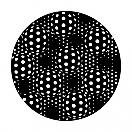 Apollo Metal Gobo 2284 Dimpled Dots