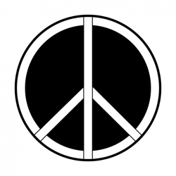 Apollo Metal Gobo 2292 Peace Symbol