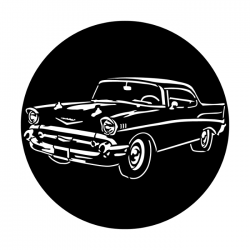 Apollo Metal Gobo 2298 1950's Chevy