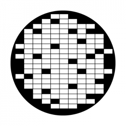 Apollo Metal Gobo 2326 Crossword Game
