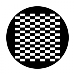 Apollo Metal Gobo 2328 Simple Checkerboard