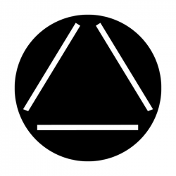 Apollo Metal Gobo 2336 Hollow Triangle
