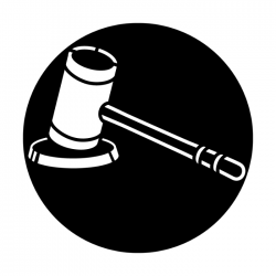 Apollo Metal Gobo 2465 Gavel