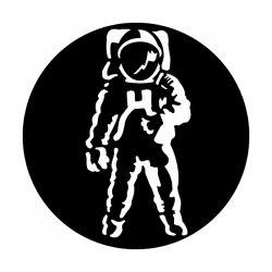 Apollo Metal Gobo 2500 Astronaut