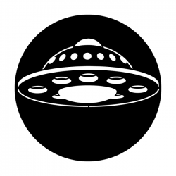Apollo Metal Gobo 2511 Space Ship