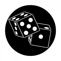 Apollo Metal Gobo 2519 Dice