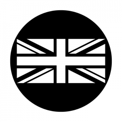 Apollo Metal Gobo 2527 UK Flag