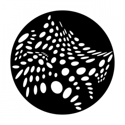Apollo Metal Gobo 2587 Abstract Dots