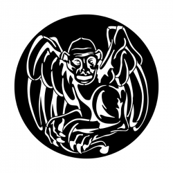 Apollo Metal Gobo 3015 Gargoyle Sitting