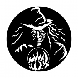 Apollo Metal Gobo 3026 Witch with Crystal Ball