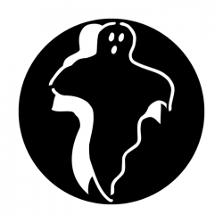 Apollo Metal Gobo 3030 Ghost Boo!