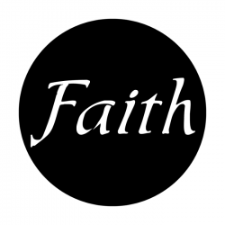 Apollo Metal Gobo 3117 Faith