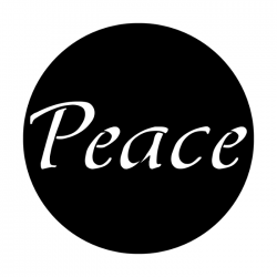 Apollo Metal Gobo 3118 Peace