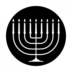Apollo Metal Gobo 3120 Menorah