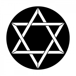 Apollo Metal Gobo 3121 Star of David