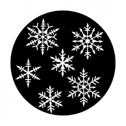 Apollo Metal Gobo 3201 Snowflake Six