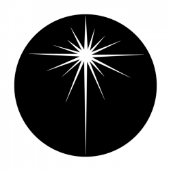 Apollo Metal Gobo 3204 Bethlehem Star Thin