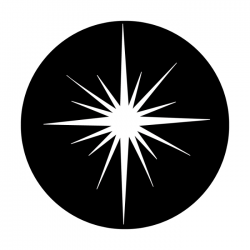 Apollo Metal Gobo 3280 Christmas Star