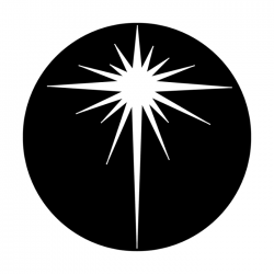 Apollo Metal Gobo 3289 Bethlehem Star