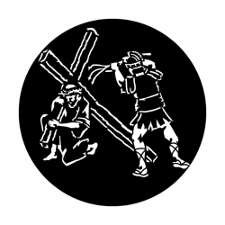 Apollo Metal Gobo 3426 Easter Carrying Cross