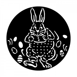 Apollo Metal Gobo 3431 Easter Bunny