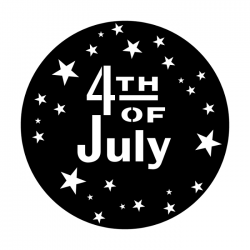 Apollo Metal Gobo 3517 Fourth Of July