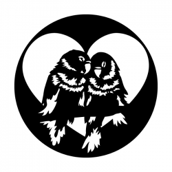 Apollo Metal Gobo 3599 Love Birds