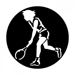 Apollo Metal Gobo 4022 Sports Woman Tennis