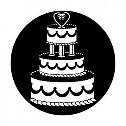 Apollo Metal Gobo 4029 Wedding Cake