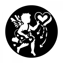 Apollo Metal Gobo 4032 Valentine