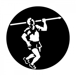 Apollo Metal Gobo 4052 Sports Javelin Thrower