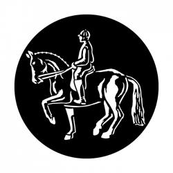 Apollo Metal Gobo 4054 Sports Horse Dressage