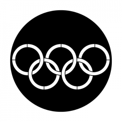 Apollo Metal Gobo 4057 Sports Olympic Rings