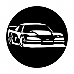 Apollo Metal Gobo 4084 Sports Car Racing Stock
