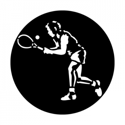 Apollo Metal Gobo 4091 Sports Tennis
