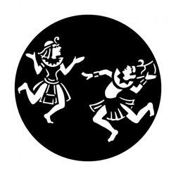 Apollo Metal Gobo 4109 Egypt Dancers