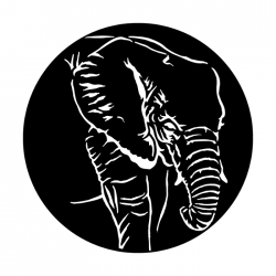 Apollo Metal Gobo 4114 Africa Elephant