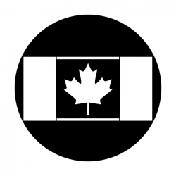 Apollo Metal Gobo 4123 Flag Canada