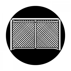 Apollo Metal Gobo 4132 Sports Hockey Net