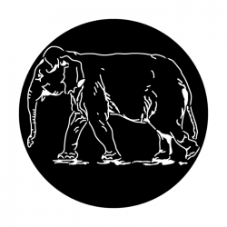 Apollo Metal Gobo 4145 Elephant