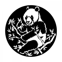 Apollo Metal Gobo 4147 Asian Giant Panda