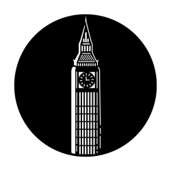 Apollo Metal Gobo 4151 Big Ben