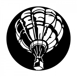 Apollo Metal Gobo 4152 Aircraft Hot Air Balloon