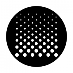 Apollo Metal Gobo 4219 Cascade Dots