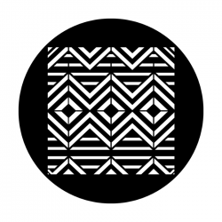 Apollo Metal Gobo 4260 Tribal Geometric Graphic