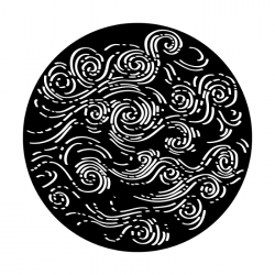 Apollo Metal Gobo 4264 Rolling Waves