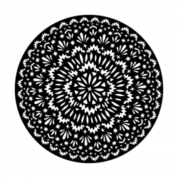 Apollo Metal Gobo 4272 Hello Doily
